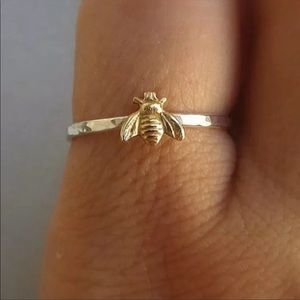 🎉5 for $25🎉 Bumblebee Gold Silver Ring